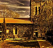 Medieval Church Kalemegdan Belgrade by stockfineart