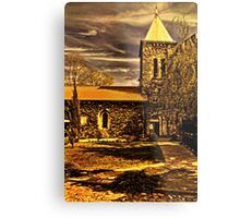 Medieval Church Kalemegdan Belgrade Metal Print