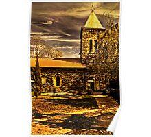 Medieval Church Kalemegdan Belgrade Poster