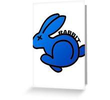 VOLKSWAGEN RABBIT Greeting Card