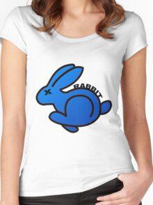 VOLKSWAGEN RABBIT Women's Fitted Scoop T-Shirt