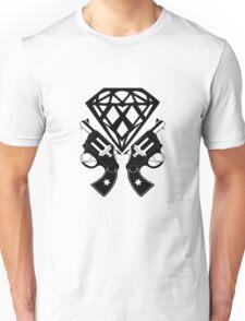 FUCKIN LIVING DIAMOND AND GUNS Unisex T-Shirt