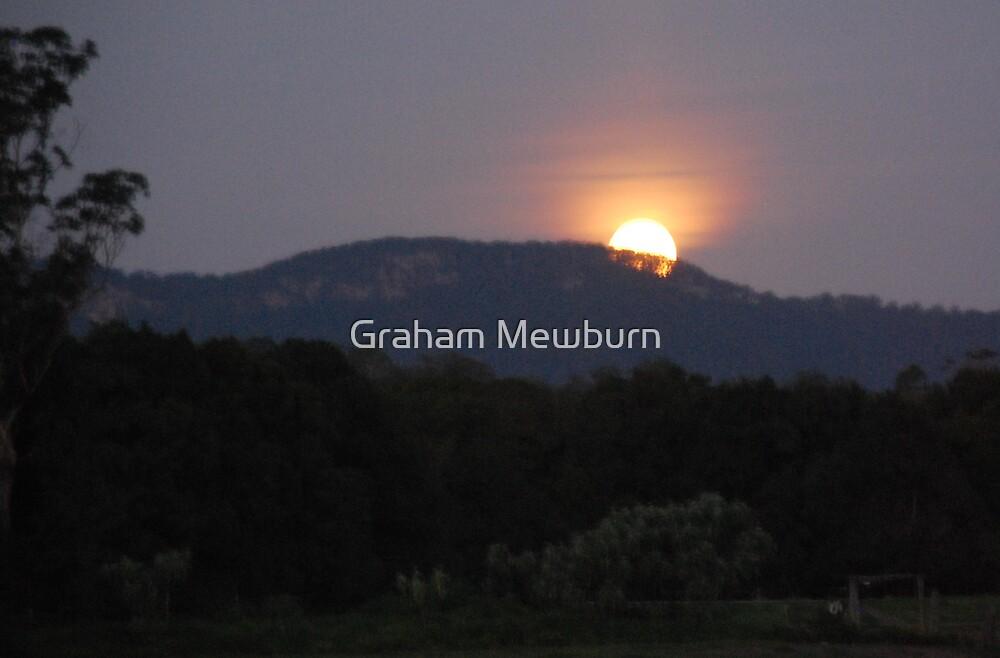 Moonrise at Upper Lansdowne by Graham Mewburn
