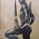 African Warrior by Angelamc