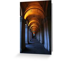 Lines and Light. Greeting Card