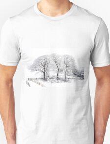 Three Snowy Trees T-Shirt