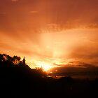 Sunset Over Caveiro by StephanieHadley
