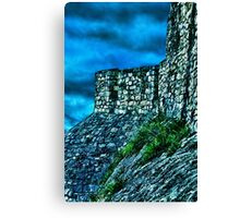 Ancient Ruins Fortress Kalemegdan Canvas Print