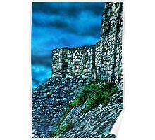 Ancient Ruins Fortress Kalemegdan Poster