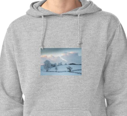Winter trees at Dawn Pullover Hoodie