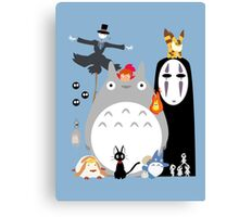 Studio Ghibli's World Canvas Print