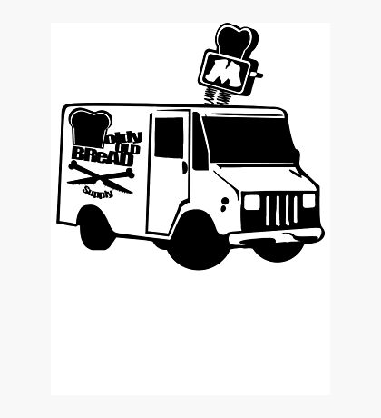 MOBS - BREAD TRUCK Photographic Print