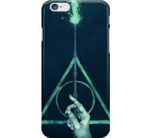 The three Hallows: Lord Voldemort's avada kedavra iPhone Case/Skin
