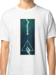 The three Hallows: Lord Voldemort's avada kedavra Classic T-Shirt