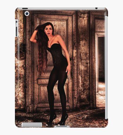 Abandoned Fashion Room Fine Art Print iPad Case/Skin