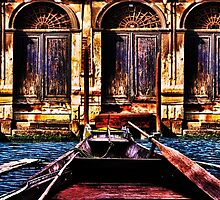Waiting For Love Venice Fine Art Print by stockfineart