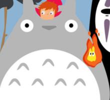 Studio Ghibli's World Sticker