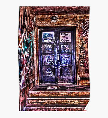 Urban Decay Door Fine Art Print Poster
