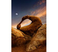 Mobius Arch in the Alabama Hills 2. Photographic Print