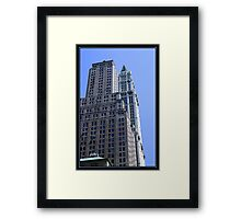 THE WOOLWORTH BUILDING Framed Print