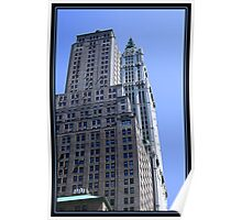 THE WOOLWORTH BUILDING Poster