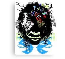 SMART GUY LIVIN Canvas Print