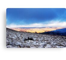 From Penyghent looking East Canvas Print