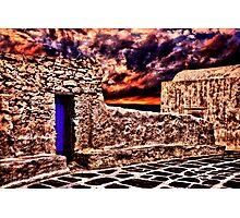 Old Church Santorini Fine Art Print Photographic Print