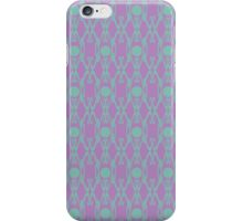 African Violet Design E iPhone Case/Skin