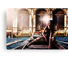 Venice Girl Fine Art Print Canvas Print