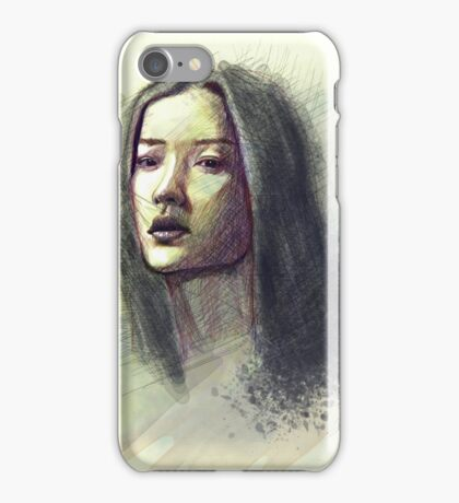Asian Girl iPhone Case/Skin