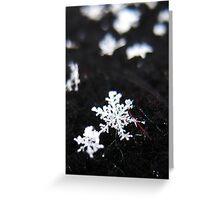 Winter Shape Greeting Card