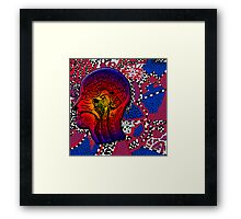 The Inside Trippy Mind Framed Print