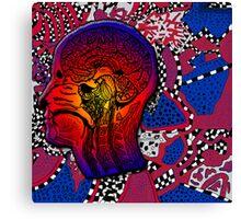 The Inside Trippy Mind Canvas Print