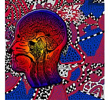 The Inside Trippy Mind Photographic Print