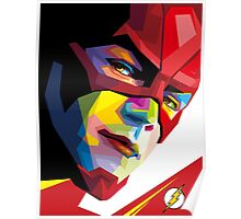 the flash portrait Poster