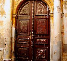 Doorway in Rhodes Old Town by Margaret Brown