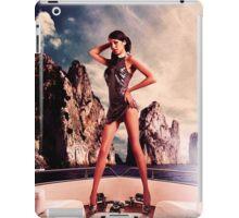 High Fashion Yacht Fine Art Print iPad Case/Skin