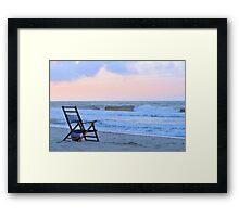 Waiting For A Sunrise Framed Print
