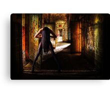 Fashion Abandoned House Fine Art Print Canvas Print