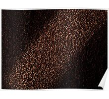 Coffee beans abstract background art photo print Poster