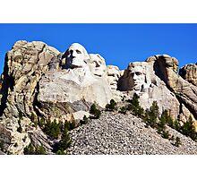 Mount Rushmore National Memorial Photographic Print