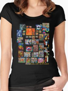 Art Collection Women's Fitted Scoop T-Shirt
