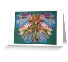 Angel Moth Greeting Card