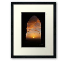 Bradgate Park Sunrise Framed Print