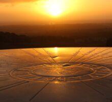 Sundial Sunrise Sticker