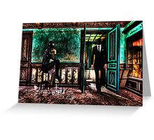 Love Meeting Fine Art Print Greeting Card