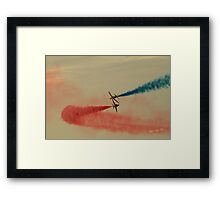 Red Arrows at Cowes Week Framed Print