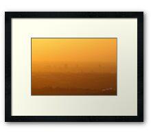 Leciester Sunrise Framed Print