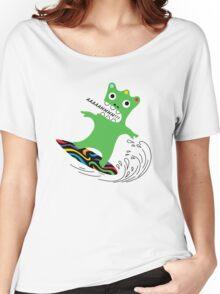Critter Surf   Women's Relaxed Fit T-Shirt